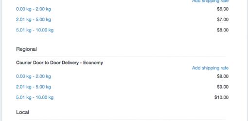 Custom Shipping Zones Shopify Embedded App