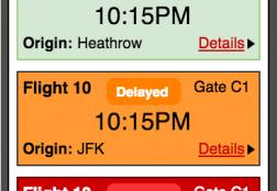 Flights Mobile App